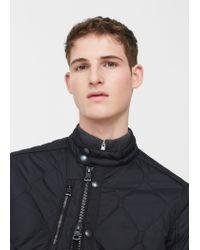 Mango | Black Pocket Quilted Jacket for Men | Lyst