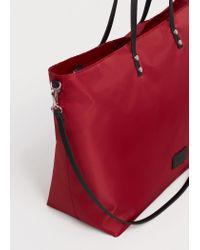 Violeta by Mango | Red Shopper Bag | Lyst
