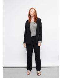 Violeta by Mango | Black Drawstring Baggy Trousers | Lyst