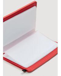 Mango - Pink Printed Card Holder - Lyst
