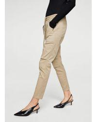 Mango Natural Trousers