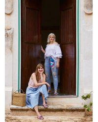 Violeta by Mango - Blue Girlfriend Claudia Jeans - Lyst