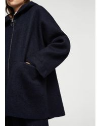 Mango - Blue Coat - Lyst