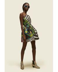 Marc Jacobs | Black One Shoulder Dress | Lyst