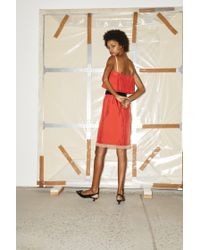 Marc Jacobs Red Flare Top Dress