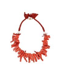 Silvia Furmanovich - Red Coral Branch Necklace - Lyst