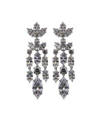 Fantasia Jewelry | Multicolor Chandelier Marquis Earrings | Lyst