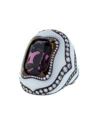 Arunashi - Multicolor Rhodolite Ring - Lyst