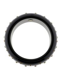 Mark Davis - Black Bakelite Bangle - Lyst