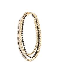 Marni - Black Strass Necklace - Lyst