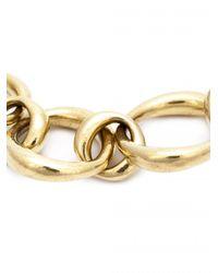 Vaubel - Metallic Chunky Oval Link Necklace - Lyst