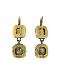 Yossi Harari - Metallic Lilah Double Drop Earrings - Lyst