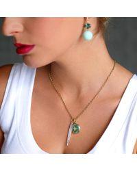 Irene Neuwirth - Green Tourmaline Charm - Lyst