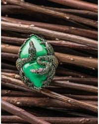 Wendy Yue - Green Turquoise Ring - Lyst