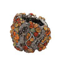 Arunashi - Red Fire Opal Cuff Bracelet - Lyst