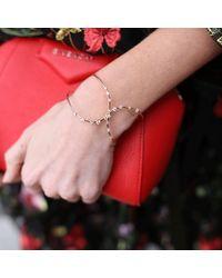 Mattia Cielo - Metallic Rugiada Diamond Cuff Bracelet - Lyst