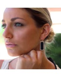 Irene Neuwirth | Green Emerald Cut Onyx Earrings | Lyst