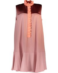 Roksanda - Pink Kaeli Flounce Bottom Dress - Lyst