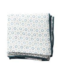 Brunello Cucinelli   White Fancy Dot Pocket Square for Men   Lyst