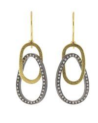 Todd Reed - Metallic Circle Drop Earrings - Lyst