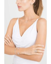 Dana Rebecca - Metallic Emily Sarah Diamond Cuff Bracelet - Lyst