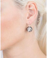 Jordan Alexander - Metallic Tahitian Pearl And Diamond Leaf Earrings - Lyst
