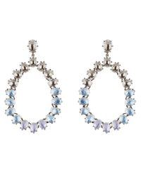 Larkspur & Hawk - Metallic Caterina Large Frame Earrings - Lyst