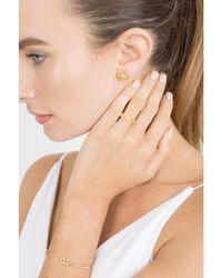 Dana Rebecca - Metallic Kristyn Kylie Sapphire Earrings - Lyst