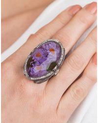 Sevan Biçakci - Multicolor Waterlily Amethyst Ring - Lyst