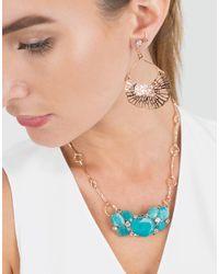 Federica Rettore - Metallic Gorgonia Diamond Fan Earring - Lyst