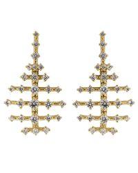 Fernando Jorge - Metallic Mini Disco Diamond Earrings - Lyst