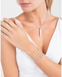 Mattia Cielo - White Rugiada Five-circle Wrap Tennis Bracelet - Lyst