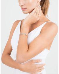 Mattia Cielo - Metallic Rugiada Cognac Diamond Hoop Earrings - Lyst