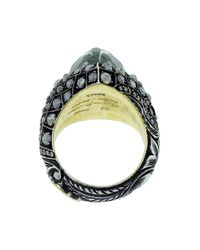 Sevan Biçakci - Multicolor Elephant Quartz Ring - Lyst