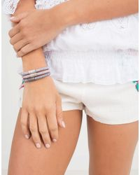 Carolina Bucci - Purple Lilac Twister Band Bracelet - Lyst