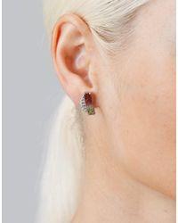 Dana Rebecca - Multicolor One Of A Kind Watermelon Stud Earrings - Lyst