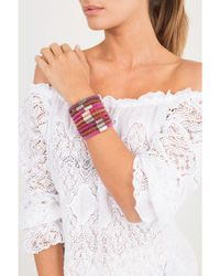 Carolina Bucci - Purple Magenta Twister Band Bracelet - Lyst