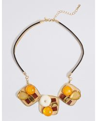 Marks & Spencer - Metallic Explorer Statement Collar Necklace - Lyst
