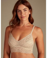 6ddc903813 Marks   Spencer. Women s Louisa Lace Non-padded Bralet