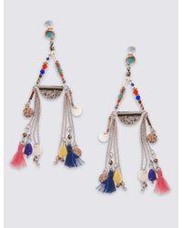 Marks & Spencer - Multicolor Havana Statement Earrings Set - Lyst