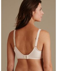 Marks & Spencer - Multicolor Vintage Lace Minimiser Non-padded Full Cup Bra C-gg - Lyst