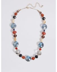 Marks & Spencer - Multicolor Assorted Collar Necklace - Lyst
