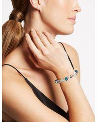 Marks & Spencer - Multicolor Silver Plated Snail Stretch Bracelet - Lyst