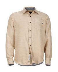 Marmot - Natural Hobson Flannel Ls for Men - Lyst