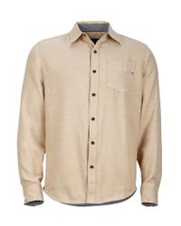 Marmot - Natural Hobson Flannel Ls for Men - Lyst