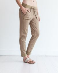 Marrakech - Brown Knit Rio Jogger - Lyst