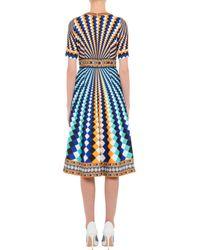 Mary Katrantzou - Osmond Dress Harlequin Blue - Lyst