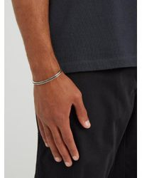 M. Cohen - Metallic Sterling-silver Cuff for Men - Lyst