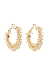 Rosantica By Michela Panero - Pink Carmen Bead-embellished Earrings - Lyst