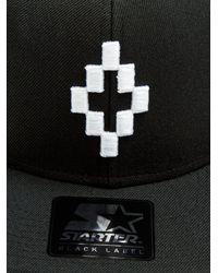 Marcelo Burlon - Black Starter Cruz Embroidered Cap for Men - Lyst